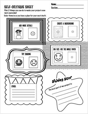 Zaverack L Miss Zaveracks Art Worksheets