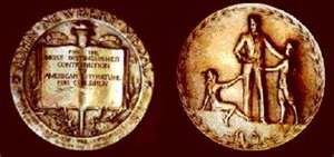 newbery award medal