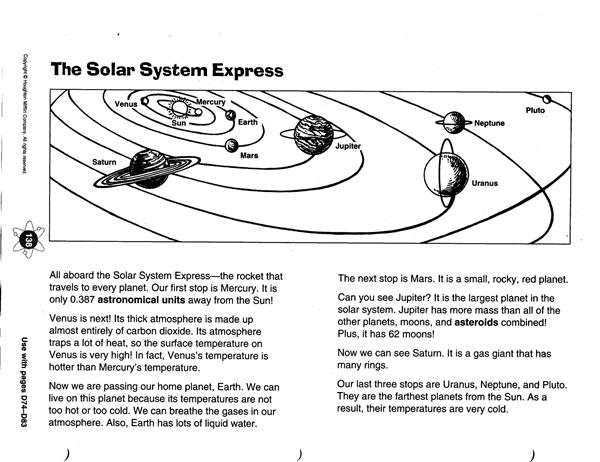 Zola D Science Chapter 9 The Solar System