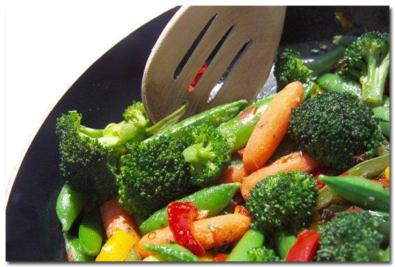 sautee veggies
